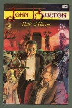 Horror Comix book 1985 Halls of Horror #1 John Bolton colour  #509